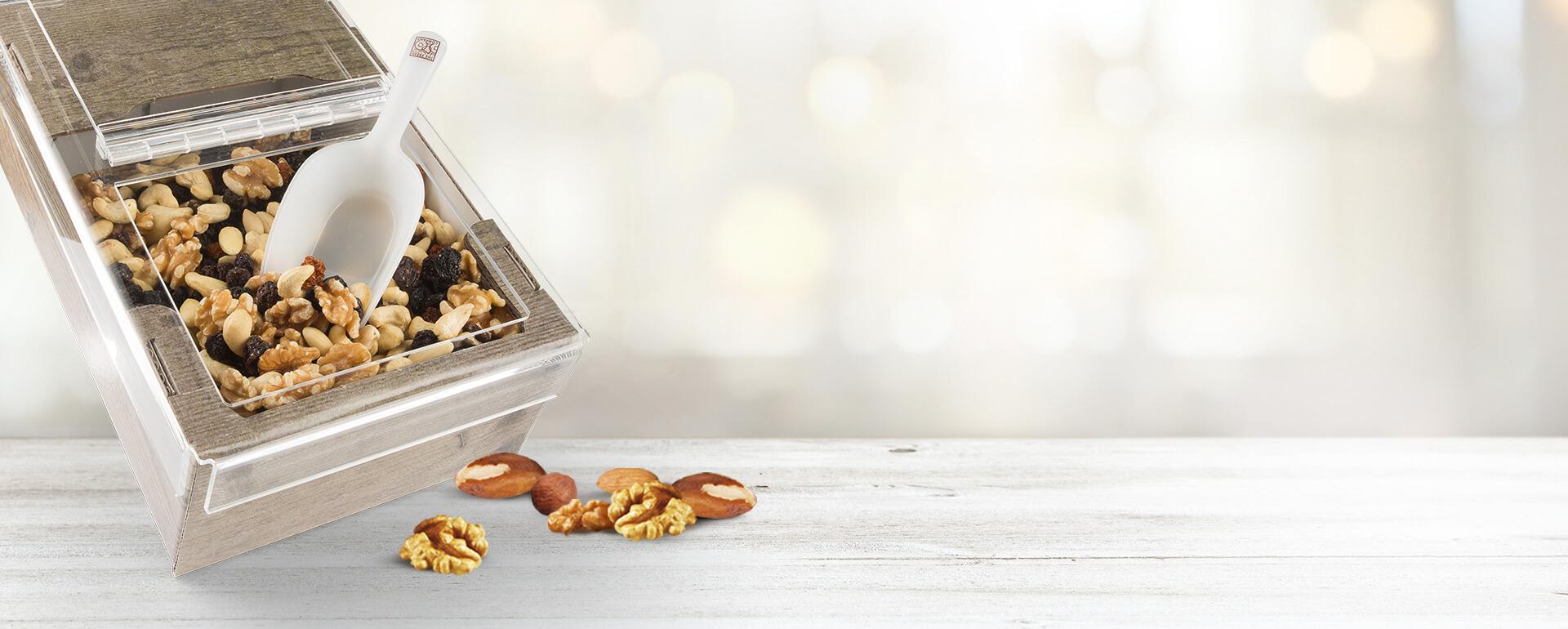 Trockenfrüchte und Nüsse in XXL-Verpackung zu einem guten Preis | Frutree