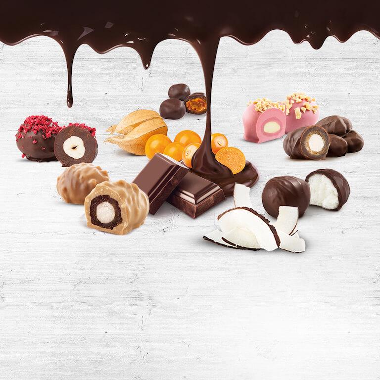 Köstliche Kreationen in feinster Schokoladen-Auswahl | Frutree